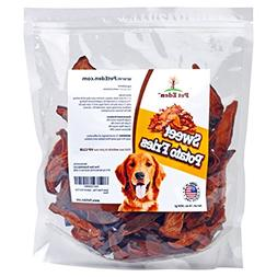 Pet Eden Sweet Potato Fries Dog Treats Made in USA Only, Bes