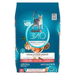 Purina One Tender Selects Blend With Real Salmon Adult Dry C