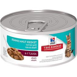 Hill's Science Diet Tender Tuna Dinner Adult Canned Cat Food