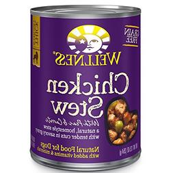 Wellness Thick & Chunky Natural Wet Grain Free Canned Dog Fo