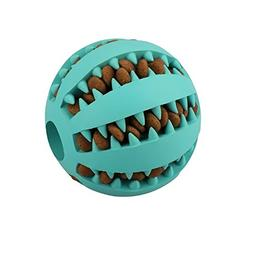 QINUKER Toy Ball for Dogs, Durable Non-Toxic Strong Tooth Cl