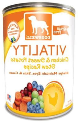 DOGSWELL TREAT CHKN SWT PTO VTALTY, 13 OZ