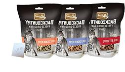 Merrick Backcountry Freeze-Dried Treat Variety Pack - 3 Tota