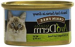 AvoDerm Naturals Tuna & Crab Meat Canned Cat Food, 3-Ounce b