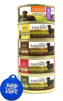 Well Fed Pets Nature's Variety Instinct Wet Dog Food Variety