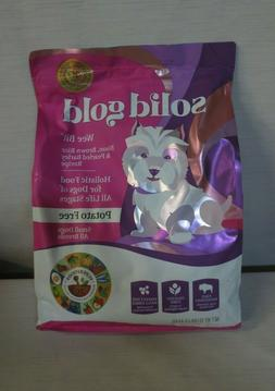 Solid Gold Wee Bit Holistic Dry Dog Food, Bison and Brown Ri