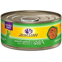 Wellness Can Cat Food 24 Pack Turkey