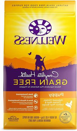 Wellness Complete Health Natural Grain Free Dry Dog Food Pup