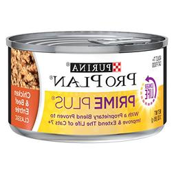 Purina Pro Plan Prime Plus Classic Chicken & Beef Entree Adu