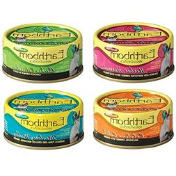 Earthborn Holistic Wet Cat Food Variety Pack - 4 Flavors  -