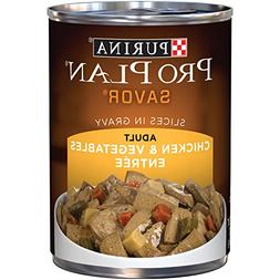 Purina Pro Plan Savor Chicken & Vegetables Entree Slices In