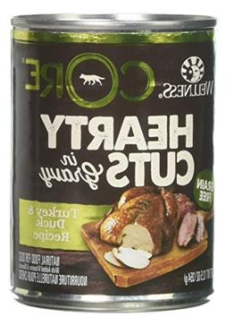 Wellness 12.5 oz Natural Wet Grain Free Turkey & Duck Canned