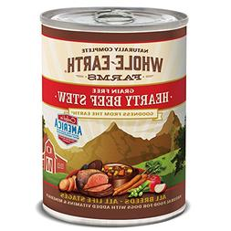 Whole Earth Farms Merrick Hearty Beef Stew, 12.7-Ounce, Pack