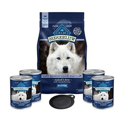Blue Buffalo Wilderness Dog Food-High Protein Grain Free Sen