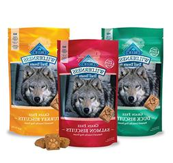 Blue Buffalo Wilderness Dog Trail Treat Biscuits Variety Pac