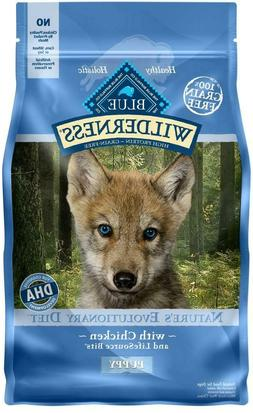 Blue Buffalo Wilderness Puppy Grain Free Chicken Dry Dog Foo