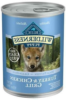 Blue Buffalo Wilderness Turkey & Chicken Grill Puppy Canned