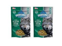 2 Pack Blue Buffalo Wilderness Wild Bits. Soft Grain Free Tr