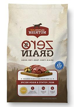 Rachael Ray Nutrish Zero Grain Natural Dry Dog Food, Grain F