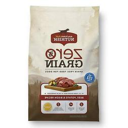 Rachael Ray Nutrish Zero Grain Natural Beef, Potato & Bison